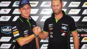 Badovini returns to SBK with Kawasaki Grillini