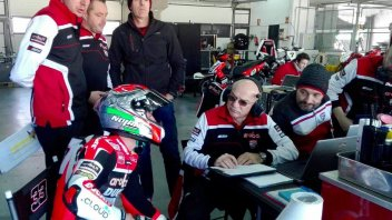 "Melandri: ""The Panigale is out of this world!"""