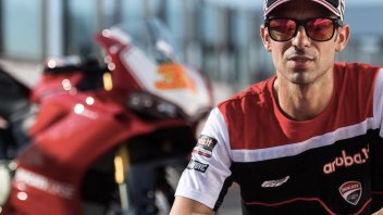 Melandri rides the Ducati until he's exhausted