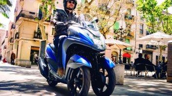 Yamaha: a novembre il nuovo Tricity 155
