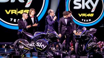 Team Sky Vr46's new livery unveiled on X Factor