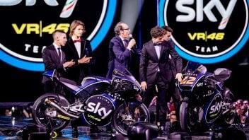 La nuova livrea del team Sky Vr46 svelata a X Factor