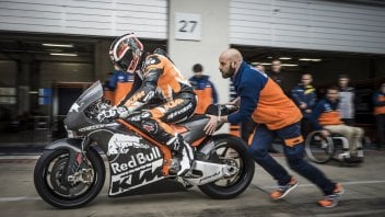 In a video, the first cries of the KTM MotoGP bike