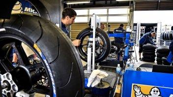 La MotoGP dice addio alle gomme intermedie