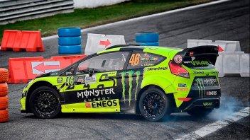 Rossi allunga e mette le mani sul Monza Rally Show