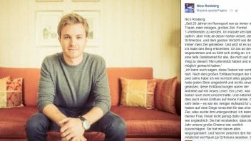 Nico Rosberg like Stoner:  too much stress, goodbye F1