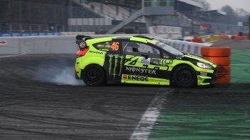 Trionfo da record per Rossi al Monza Rally Show