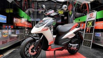 Aprilia, in India tutti pazzi per l'SR150: è scooter dell'anno
