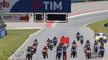 MotoGP and SBK, red flag calendars