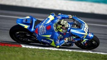 MotoGP: Sepang: Iannone e la Suzuki volano, 4° Rossi risale Lorenzo