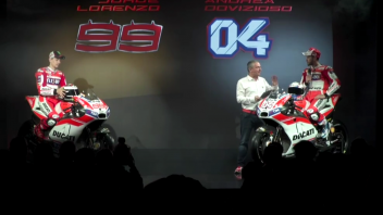"""Ducati svela la GP17, Dall'Igna: """"resta solo da vincere il Mondiale"""""""