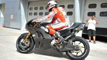 Ducati shows off its new rear end