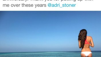 Casey Stoner, from Maldives with love
