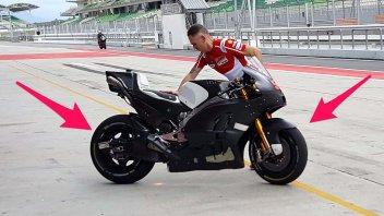 Ducati continua gli esperimenti di aerodinamica a Sepang