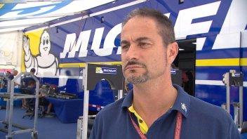 Michelin at work: raining down news at Sepang