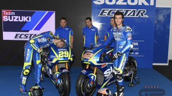 Iannonne, Rins e GSX-RR: the Suzuki's three forwards