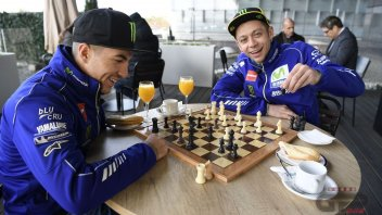Rossi e Vinales: la nuova coppia in blu