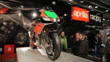 Moto - News: Aprilia e Guzzi: show al Motor Bike Expo