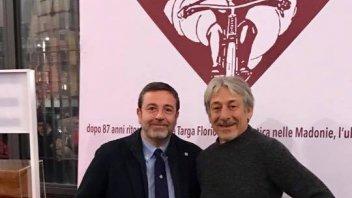 Torna la Targa Florio Motociclistica con Lucchinelli e Agostini