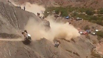 Dakar: spaventoso incidente per Carlos Sainz