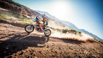 Dakar, 4^ Tappa: Walkner sorprende, Barreda va in fuga