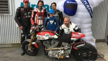 Keanu Reeves e Arch Motorcycles sponsor di Jigalov nel CIV