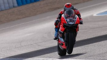 Test Jerez: Melandri super, porta la Ducati in vetta