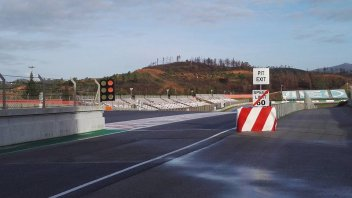 The weather delays testing at Portimao, setback for Ioda