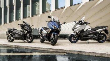 Yamaha T-Max 2017: i prezzi delle tre versioni