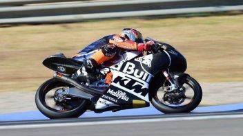 Moto3: Valencia tests: Bendsneyder stays on top, Fenati 3rd