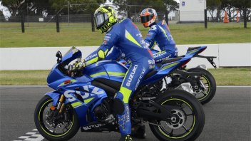 MotoGP: Iannone Rins already in Phillip Island, but on the GSX-R