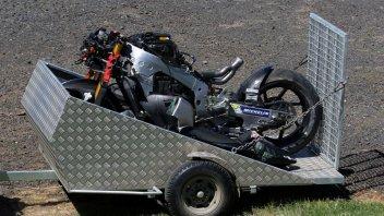 MotoGP: Lowes, what a blow! Destroys the Aprilia