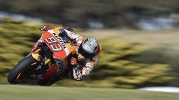MotoGP: VIDEO. At Phillip Island with Marquez and Pedrosa