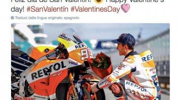 MotoGP: Marquez innamorato... della sua Honda