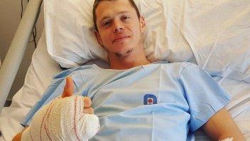 MotoGP: Perfettamente riuscito l'intervento a Tito Rabat