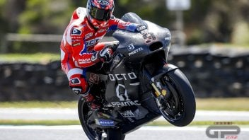 "MotoGP: Petrucci: ""The Ducati with the new tail fairing? Love at first sight"""