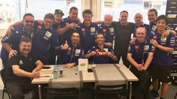 MotoGP: Valentino Rossi blows out 38 candles... on track