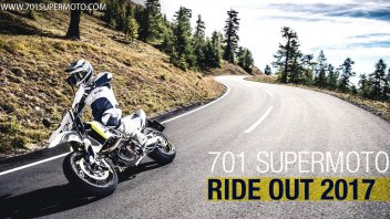 News Prodotto: Husqvarna: 701 Supermoto Ride Out 2017, verso la California