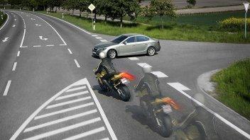 News Prodotto: Honda: allo studio l'Emergency Braking per le due ruote