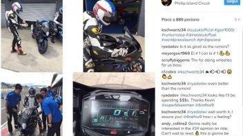 News Prodotto: La Suzuki e Schwantz in pista a Phillip Island
