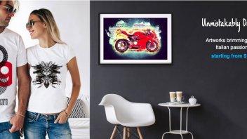 News Prodotto: Ora la Ducati si può anche appendere al muro