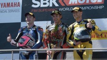 SBK: West sul podio con un motore in prestito