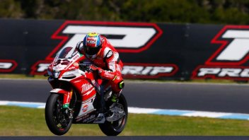"SBK: Savadori: ""I lost a lot of time at the start"""