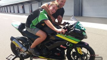 "SBK: Oli Bayliss: ""Dad and I are different, but our riding is the same"""