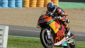 Moto2: Test Jerez: Oliveira e KTM davanti a tutti, terzo Pasini