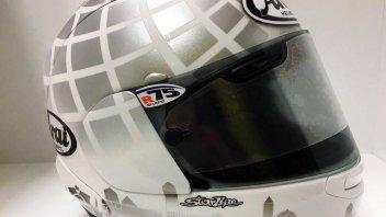 Moto3: Fenati dedica il casco alla sua Ascoli