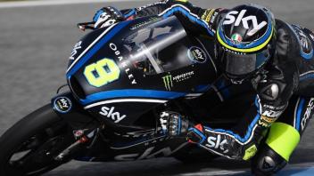 Moto3: Test Jerez: Bulega autentico dominatore