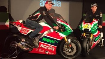 MotoGP: Red, white and green Aprilia: we are not in MotoGP just to participate