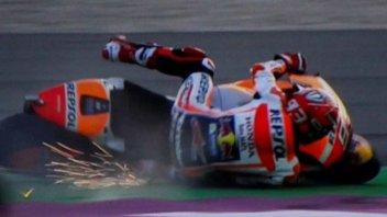 MotoGP: WUP: Marquez primo con caduta, 2° Dovizioso