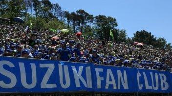 MotoGP: Ritorna la tribuna Suzuki a Poggio secco al Mugello